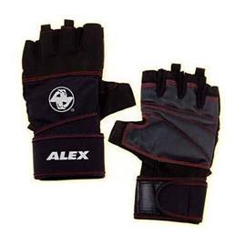 【ALEX】POWER 手套-自行車 單車 健身 重量訓練 黑