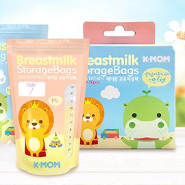 K-MOM站立式抗菌母乳袋