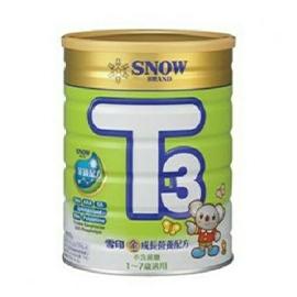 雪印成長奶粉 金強子 3號