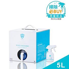 白因子 廣效性消毒抗菌液5L