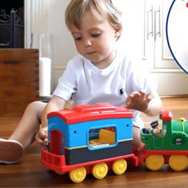 英國【WOW Toys 驚奇玩具】山姆蒸氣火車