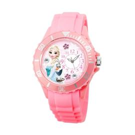 Disney迪士尼偏機芯浪漫貼鑽系列手錶-冰雪奇緣艾莎Elsa