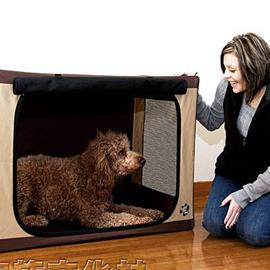 美國PET GEAR 方型舒適摺疊寵物屋
