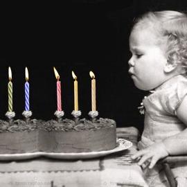 愚人節、生日惡作劇整人玩具吹不熄蠟燭