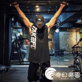 背心男- 健身背心男夏季跑步籃球坎肩無袖T恤運動服-奇幻樂園