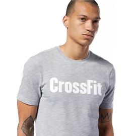 REEBOK CROSSFIT® TEE 男裝 短袖 慢跑 休閒 舒適 透氣 灰【運動世界】EC1469