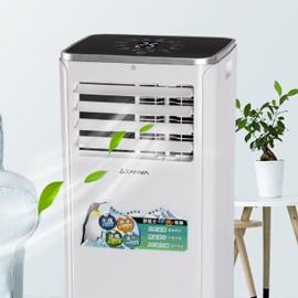 【ZANWA晶華】5-7坪六機一體 超極冷暖型 移動式冷氣機